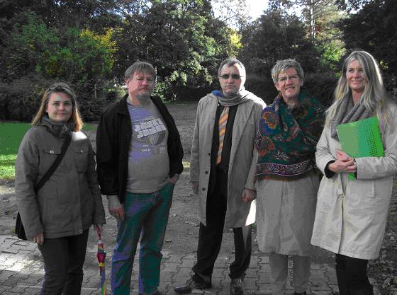 von links: Tatjana u. Uwe Sievers, Walter Schafar, Felicitas Kubala, Andrea Anslinger
